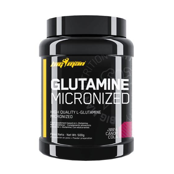 Glutamine Micronized 500g de Bigman