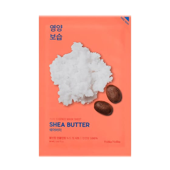 Mascarilla Facial Pure Essence Shea Butter de Holika Holika