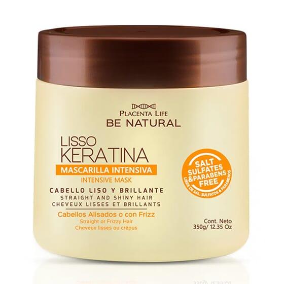 Lisso Keratina Mascarilla Intensiva 350 ml de Be Natural