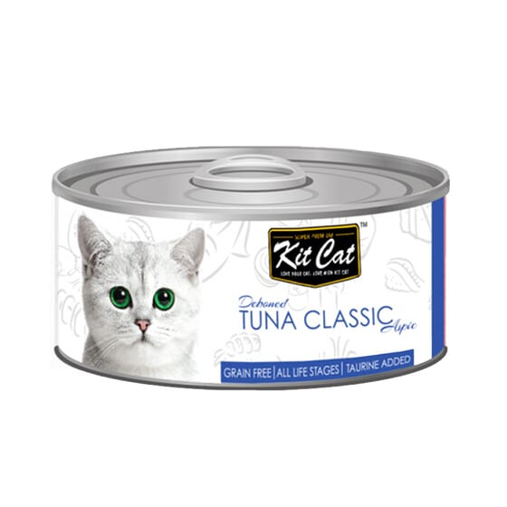 Comida Húmeda Atún Classic 80g 24 Uds de Kit Cat