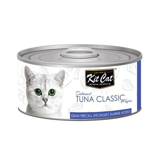 Comida Húmeda Atún Classic 80g de Kit Cat