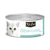 Comida Húmeda Pollo Classic 80g de Kit Cat