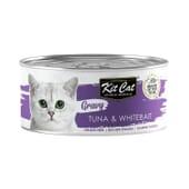 Comida Húmeda Gravy Atún Con Chanquetes En Salsa 70g 24 Uds de Kit Cat