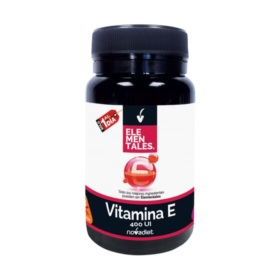 Vitamina E 400 ui 60 Caps de Novadiet