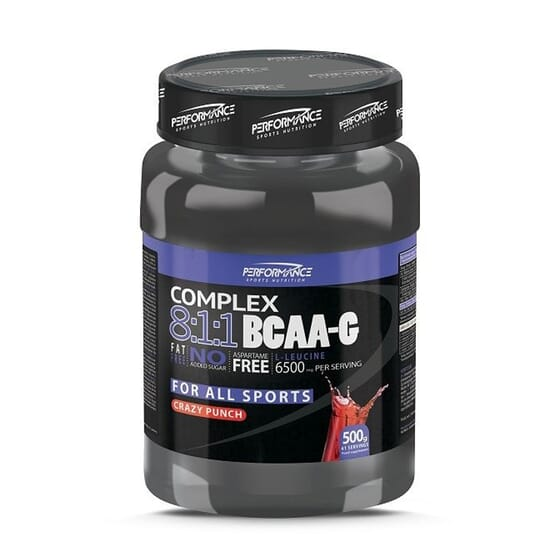 Complex 8:1:1 Bcaa-G 500g de Performance Sports Nutrition