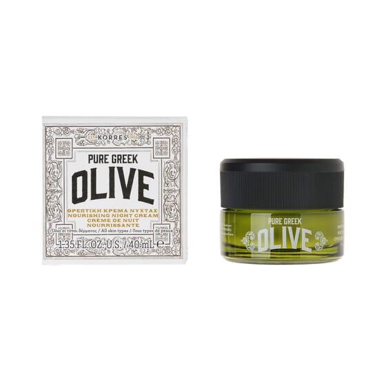 Pure Greek Olive Crema De Noche 40 ml de Korres