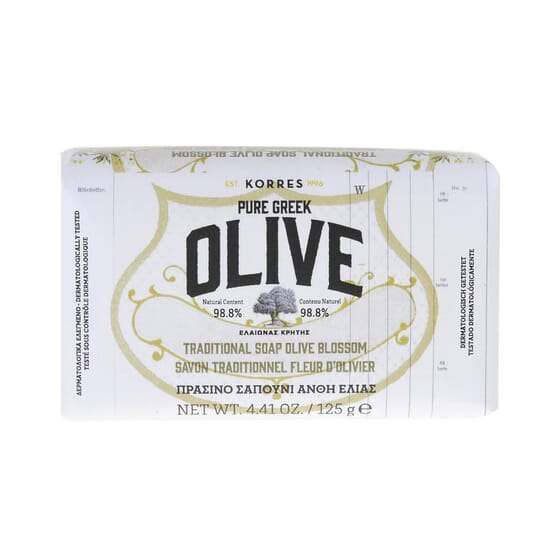 Pure Greek Olive Jabón Tradicional 125g de Korres