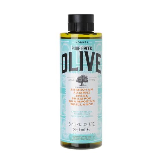 Pure Greek Olive Champú Brillo 250 ml de Korres