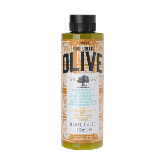Pure Greek Olive Champú Nutritivo 250 ml de Korres