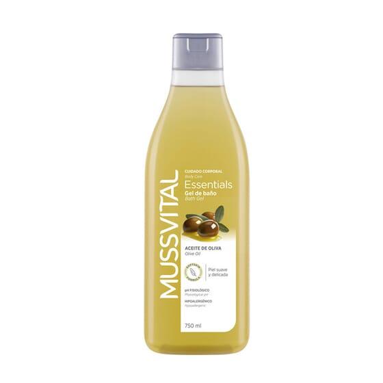 Gel De Baño Aceite De Oliva 750 ml de Mussvital