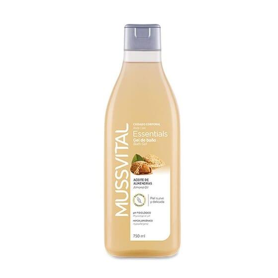 Gel De Baño Aceite De Almendras 750 ml de Mussvital