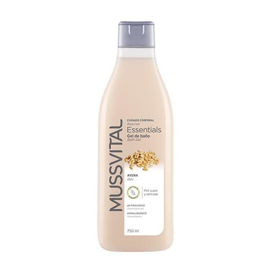 Gel De Baño Avena 750 ml de Mussvital