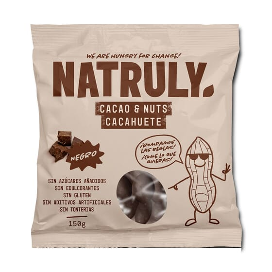 Cacao Nuts Chocolate Negro 150g de Natural Athlete