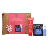 Pack Bee Sun Safe Face Cream SPF50 + Aqua Beelicious + Face Mask da Apivita