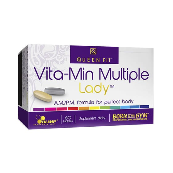 Vita-Min Multiple Lady 60 Tabs de QUEEN FIT