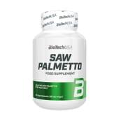 Saw Palmetto 60 Gélules de Biotech USA
