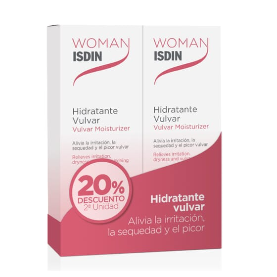 Woman Hidratante Vulvar 30g 2 Uds de Isdin