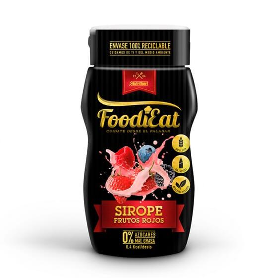 Foodiet Sirope Frutos Rojos 290g de NutriSport