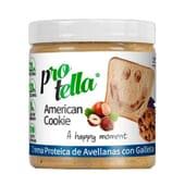 Crema Proteica Avellanas Con Galleta American Cookie 250g de Protella