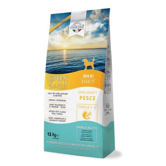 Greefish Perro Adulto Maxi Diet Pescado 12 Kg de Marpet