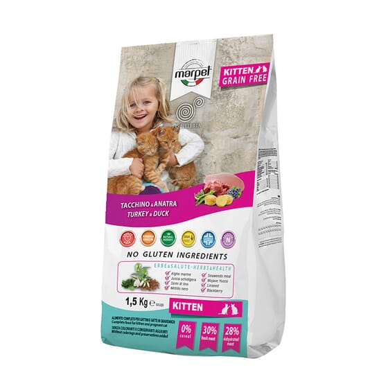 Equilibria Gato Kitten Grain Free Atún Y Pato 1.5 Kg de Marpet