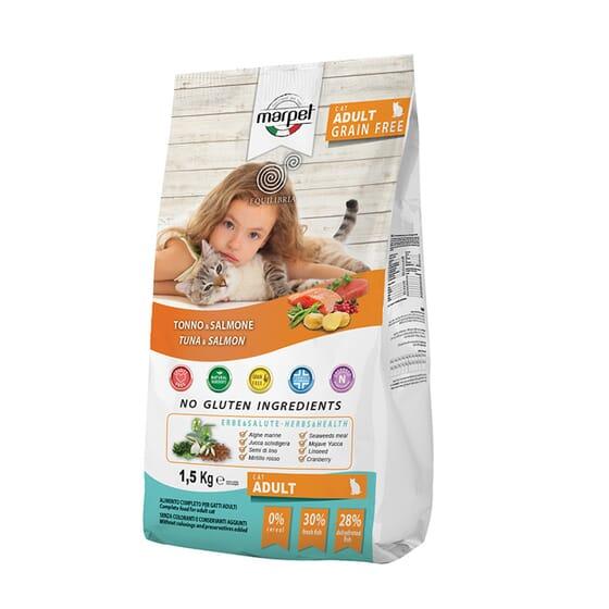 Equilibria Gato Adulto Grain Free Atún Y Salmón 1.5 Kg de Marpet