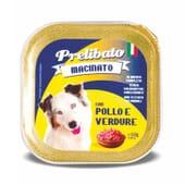 Prelibato Macinato Perro Adulto Pollo Y Verdura 150g de Unipro