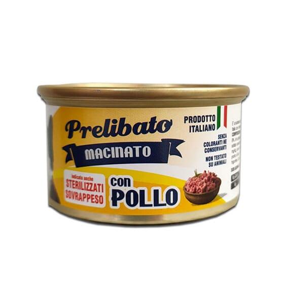 Prelibato Macinato Gatos Esterilizados Pollo 85g de Unipro