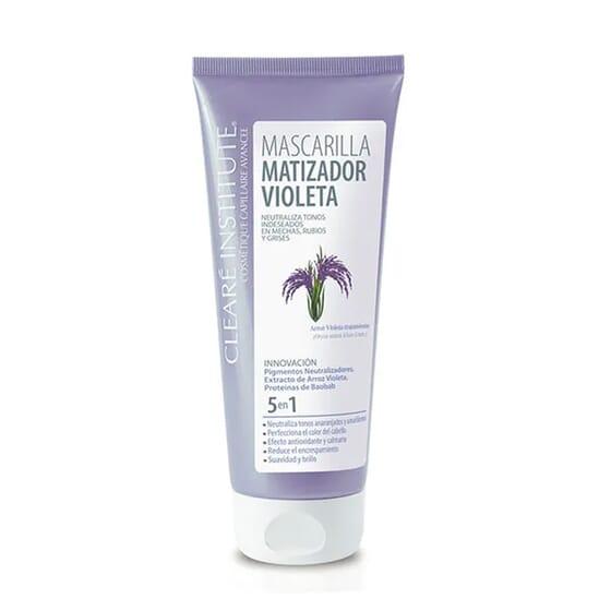 Mascarilla Capilar Matizador Violeta 200 ml de Cleare Institute