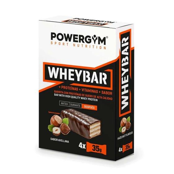 Wheybar 35g 4 Barritas de Powergym