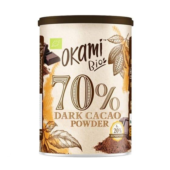 Cacao 70% Bio 250g de Okami  Bio