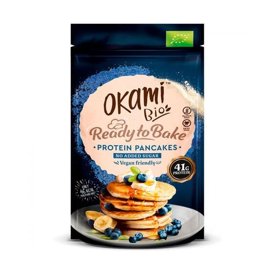 Pancakes Proteína De Guisantes Bio 125g de Okami  Bio