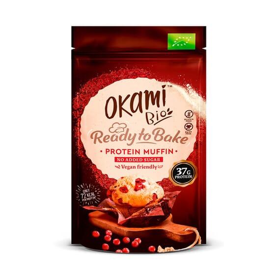 Muffin Proteína De Guisante Y Arándano Bio 135g de Okami  Bio