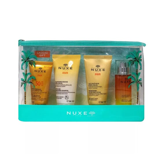 Nuxe Sun Kit Protect + Cleanse + Hydrater + Perfume de Nuxe