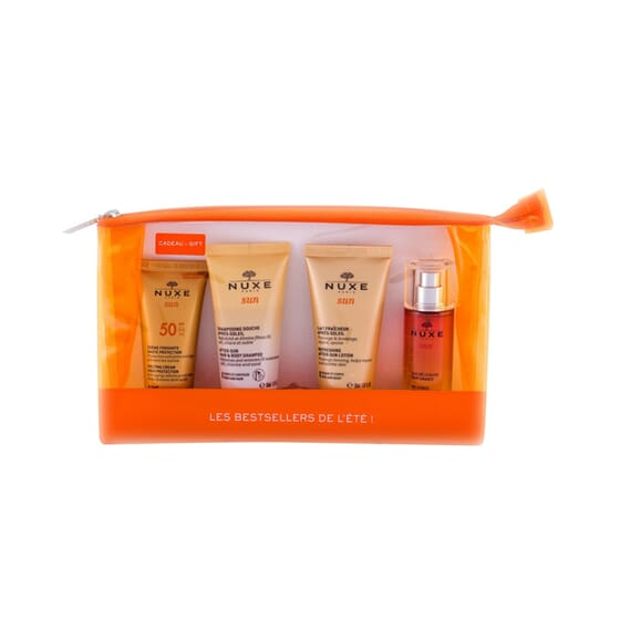 Nuxe Sun Kit Protect + Cleanse + After-Sun + Perfume de Nuxe