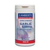 Super Strength Garlic 8259 mg 60 Tabs de Lamberts
