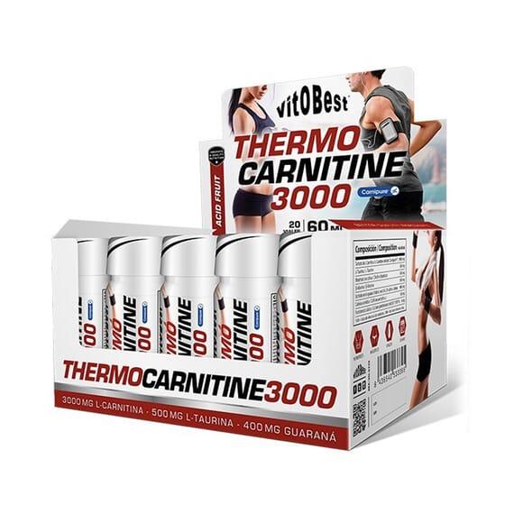Thermo Carnitine 3000 60 ml 20 Viales de Vitobest