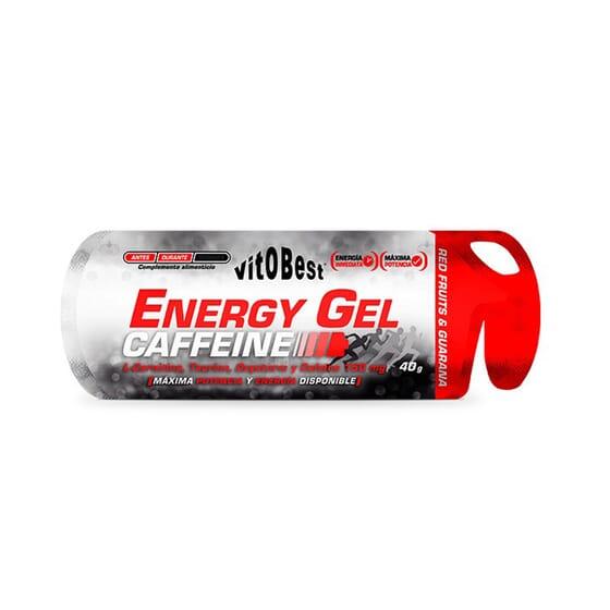 Energy Gel Caffeine 40g 12 Uds de Vitobest
