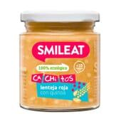 Petit Pot Bio Petits Morceaux Lentilles Rouges au Quinoa 10M+ 230g de Smileat
