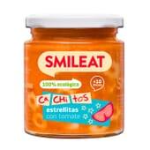 Petit Pot Bio Petits Morceaux Étoiles et Tomates 10M+ 230g de Smileat
