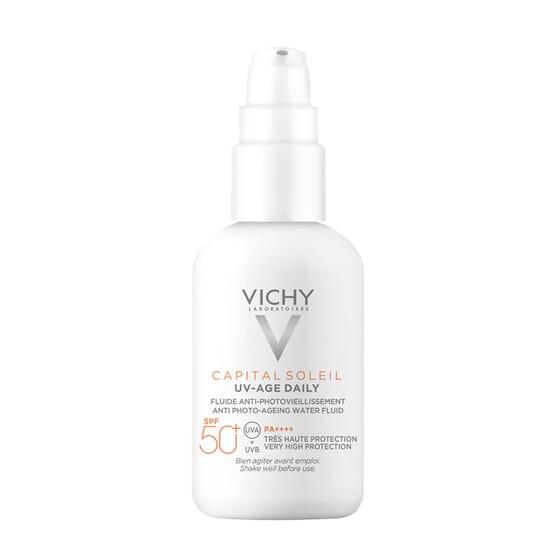 Capital Soleil Uv-Age Fluido Fotoprotector Diario SPF50+ 40 ml de Vichy