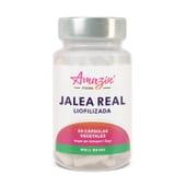 Geleia Real Liofilizada 60 VCaps da Amazin' Foods