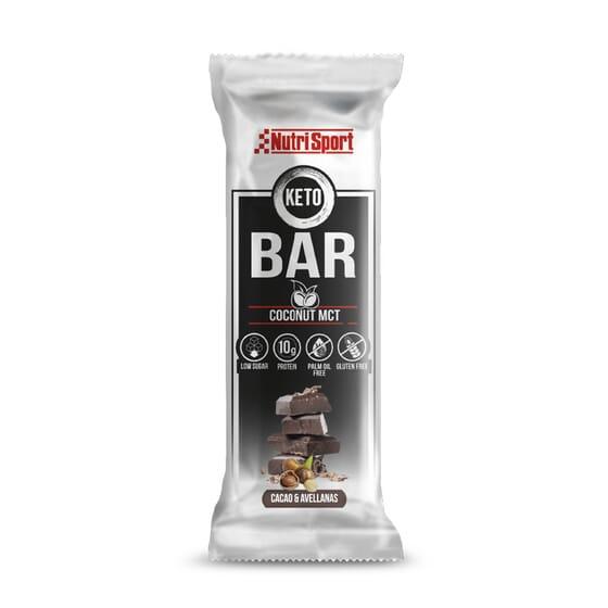 Keto Bar Coconut MCT 40g 18 Barritas de NutriSport
