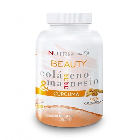 Beauty Colágeno Magnesio Cúrcuma 200 Tabs de NutriSport