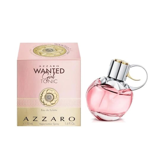 Wanted Tonic Girl EDT 50 ml de Azzaro