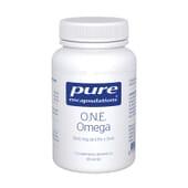 ONE Omega 1000 mg EPA Y DHA 60 Perlas de Pure encapsulations