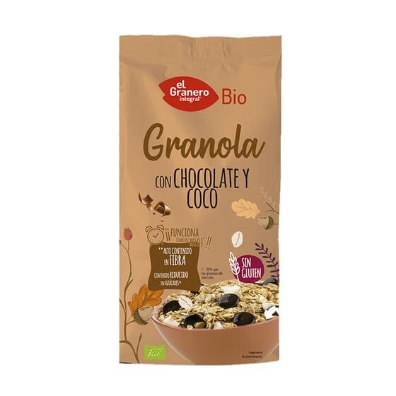 Granola Con Chocolate Y Coco Bio 350g de El Granero Integral