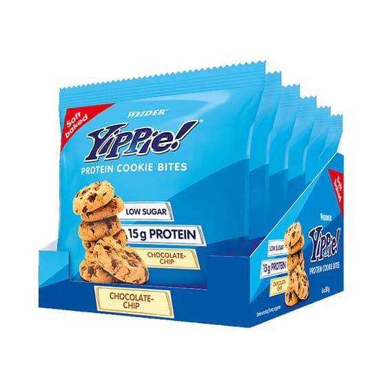 Yippie Protein Cookie Bite 50g 6 Uds de Weider