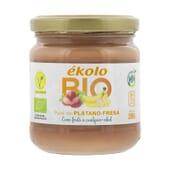 Compote De Banane Fraise Bio 200g de Ékolo