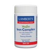 Complexo De Ferro Vegano 120 Tabs da Lamberts